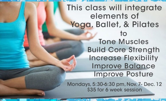"""Announcing: """"Yogalates"""" Class @ MEX"""